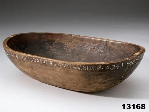 Wooden bowl, 1620...~♥~
