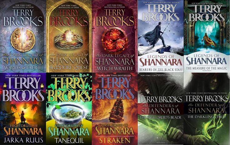 The Shannara series by Terry Pratchet. After starting the series on Netflix, the Shannara Chronicles, I really want to read the books!