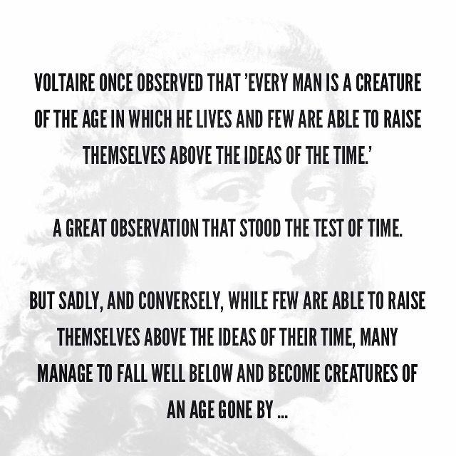 Just #observing ... #politics #culture #society #progress #Voltaire
