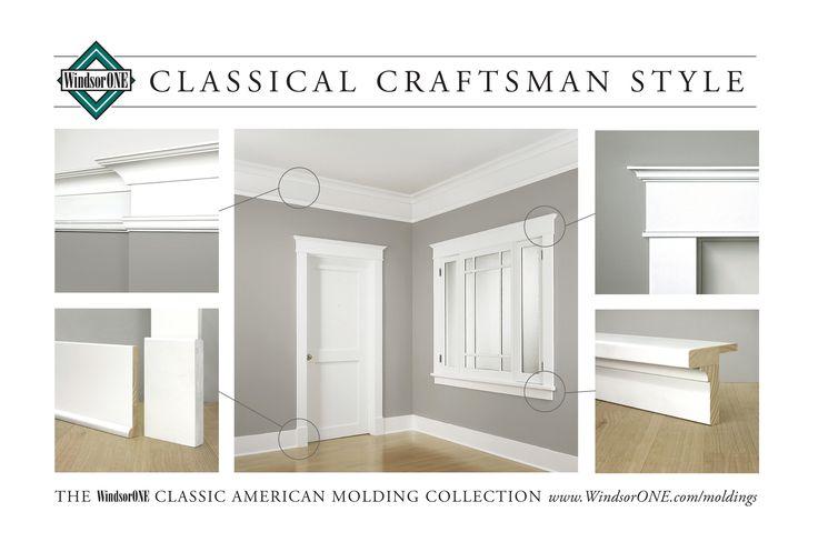 Best 25 craftsman trim ideas on pinterest craftsman for Mission style trim molding