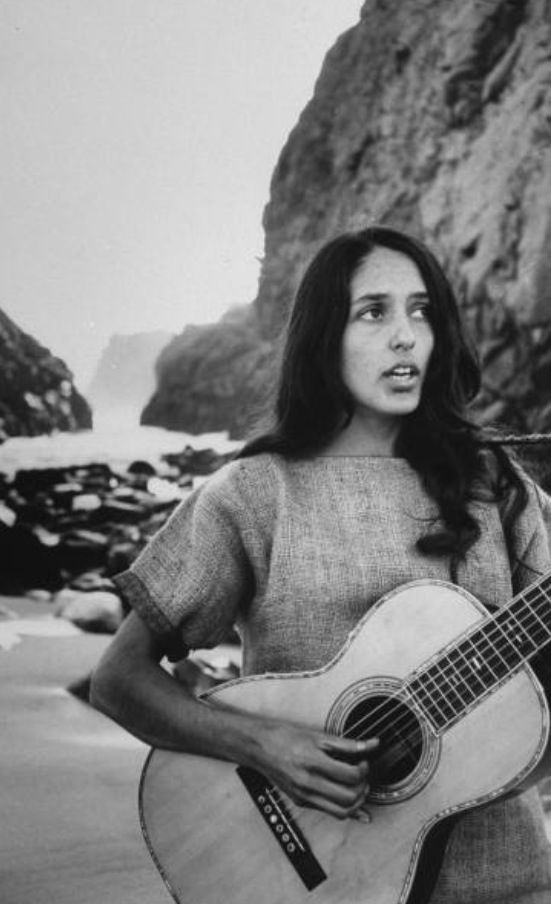 Joan Baez - not that I intended to...  she was part of an all-day open air festival in Germany that I saw.