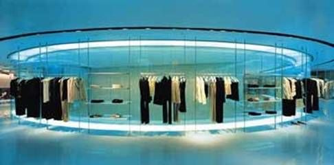 Armani Shop floor, by Massimiliano & Doriana Fuksas