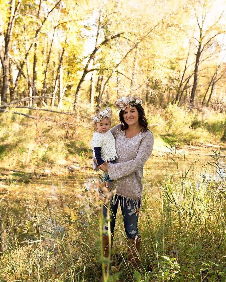 One year old and mom and me fall session. #katrinavancampphotography #highriver