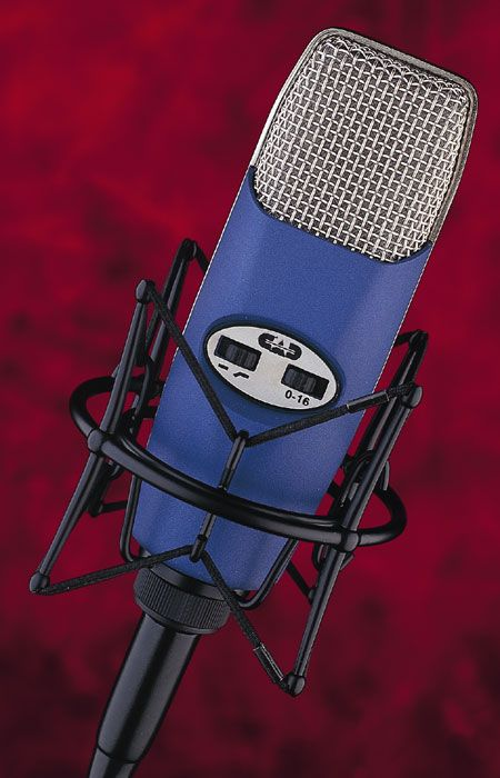 The no longer manufactured Cad M9, a fine but quite inexpensive tube mike. Often a first choice for vocals here.