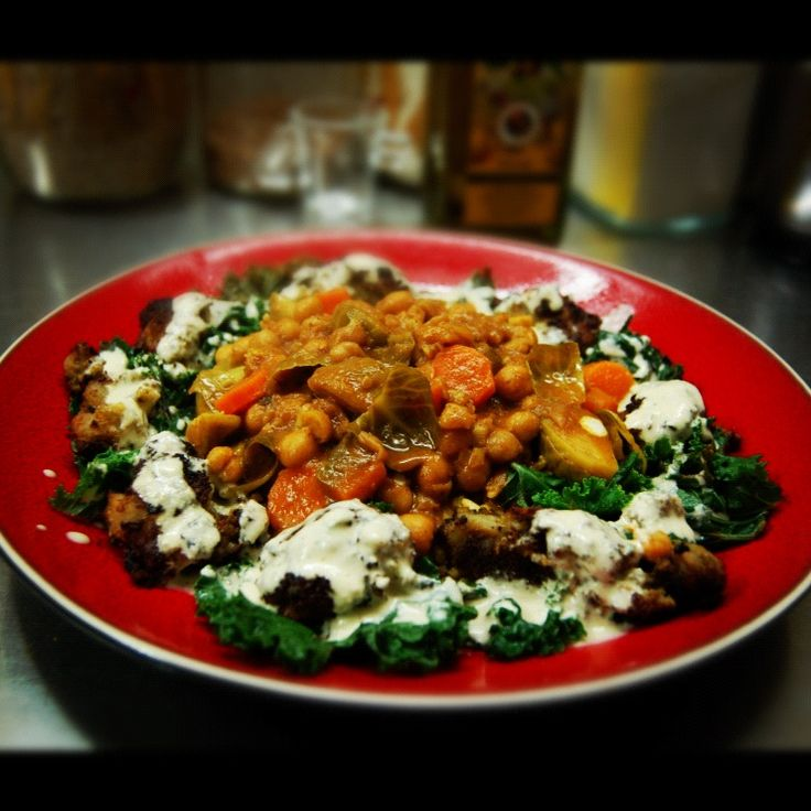 She Drives Me Curry (with Kale FalaSamosas & Vegan Cucumber Dressing)! So there I was, cruising the FB, commenting on pictures of cats and sandwiches and event pictures and then… I saw it. All you can eat Indian Buffet this Saturday at an all vegetarian, mostly vegan restaurant located in the East End. Yes, I will share the link (for those of you in Toronto).  After perusing the site for what seemed like an hour, I realized that I was just barely in their delivery zone. By a street. A…