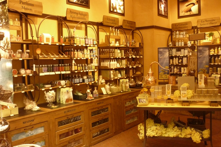 L'Occitane - I am SERIOUSLY in love with this store.