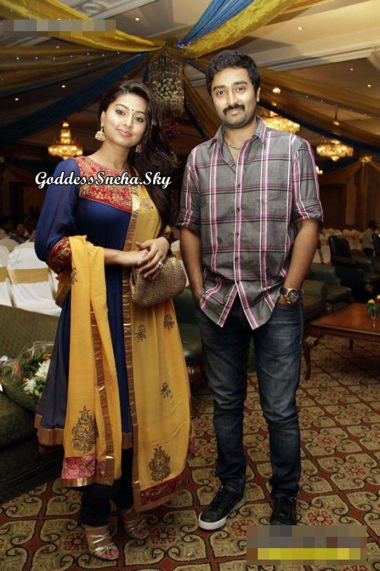 Sneha and prasanna at actor kishore ambika wedding for People s choice 65