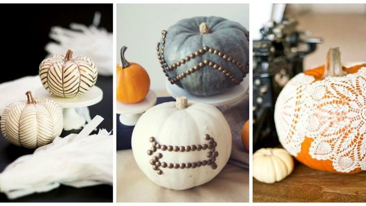20 New Ways to Decorate Your Halloween Pumpkins: Hit the road, Jack! Check out our best ideas for painting, decorating, carving, and displaying your Halloween pumpkin.