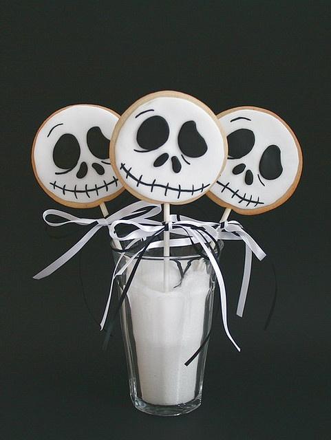 Jack Skellington Cookies!!!