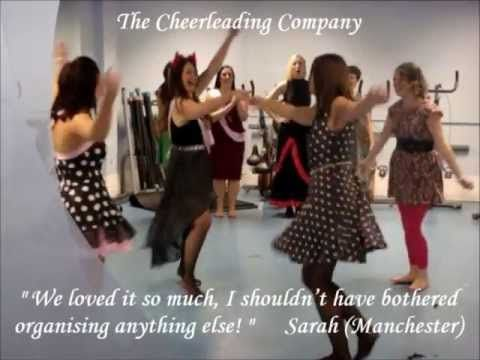 Dance Hen Parties by The Cheerleading Company | http://pintubest.com