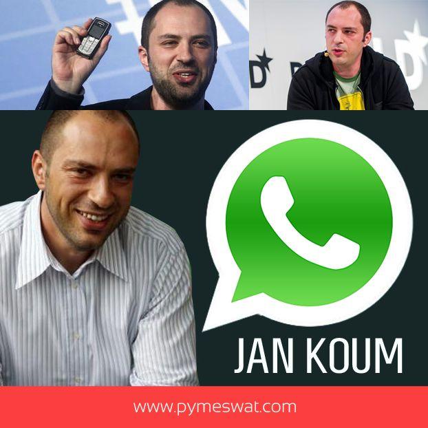#PymeBio Jan Koum es originario de Ucrania, donde vivió en pobreza durante sus niñez. Emigró junto con sus padres a Estados Unidos, donde comenzó a estudiar programación, para después ser parte de las filas en Yahoo. En 2009 fundó WhatsappInc. junto con Brian Acton, la cual fue vendida a #Facebook por 16.000 millones de dólares. #Éxito