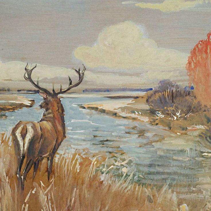 Henryk Weyssenhof  Jesień w jesiennym pejzażu