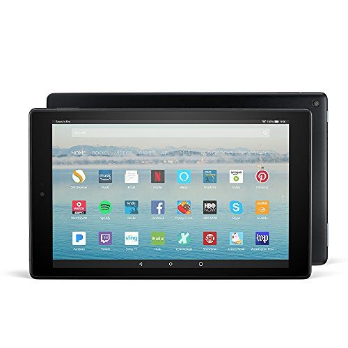"All-New Fire HD 10 Tablet with Alexa Hands-Free 10.1"" 1080p Full HD Display 64 GB Black - with Special Offers"