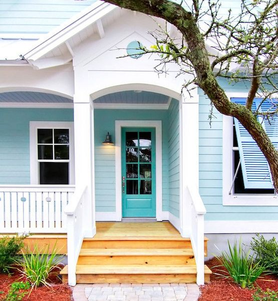 17+ Images About Beach Home Exterior Paint Colors On