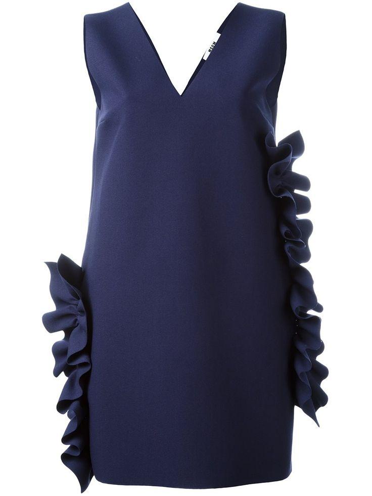 MSGM платье с оборками