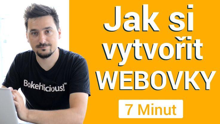 Jak si vytvořit webové stránky zdarma během 7 minut
