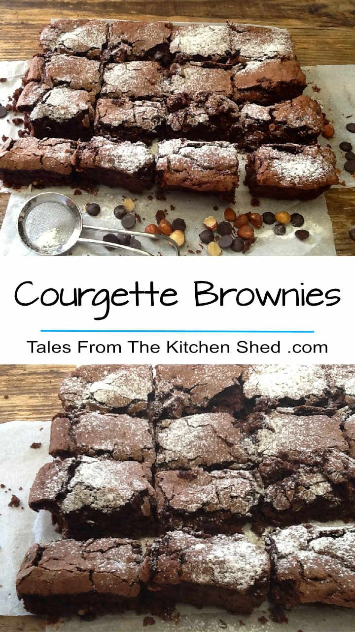 These Courgette Brownies are super moist, delicious & decadent - no one will ever guess there's zucchini in these brownies!