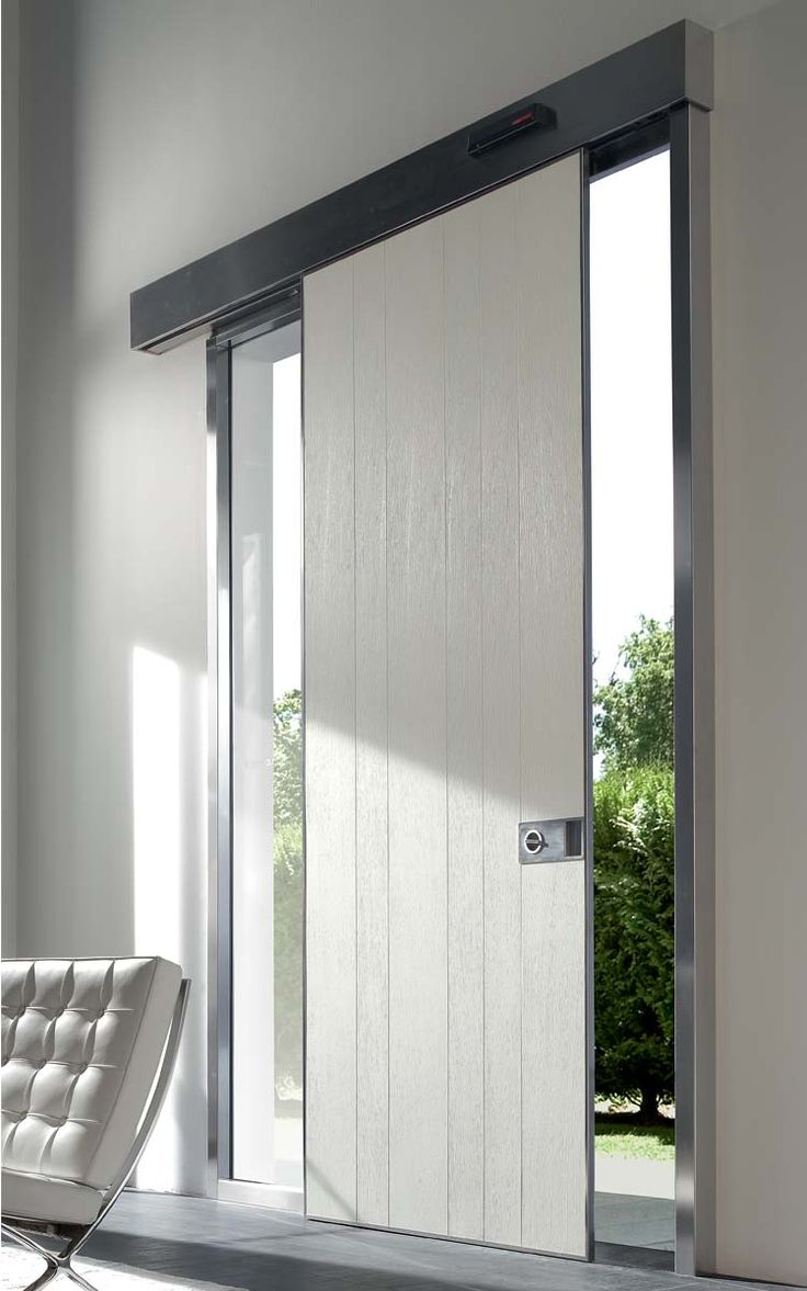 Puertas de seguridad oikos puertas de entrada puertas de - Puerta corredera exterior ...