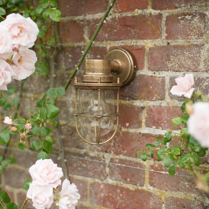 Our #brass Ship's #Light is perfect for a subtle yet #elegant #light.