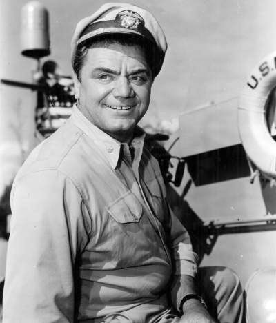 Ernest Borgnine was born Ermes Effron Borgnino on January 24, 1917 and is a Hollywood legend.  He is known for many movie roles over the years but is probably best known as playing Quinton McHale in the TV series McHale's Navy... Read the full story>>