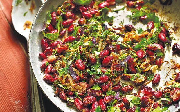 Georgian bean salad