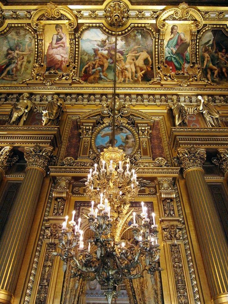 Опера Гранье, Париж, Франция - Путешествуем вместе
