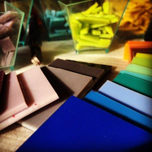 Work in progress - making designer glass jewellery. #glass #glassjewellwry #designer jewellery #rainbow #spectrum #colors #colorful #jewellerydesigner #unique #fusing #fusedglass #minimalist #minimalstyle #artjewellery #ediart #ediartglass #uvegekszer #ekszer