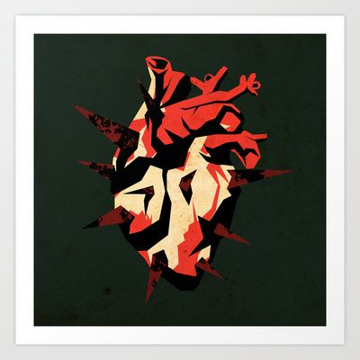 Love07 Art Print by Daniele Vittadello - $19.00