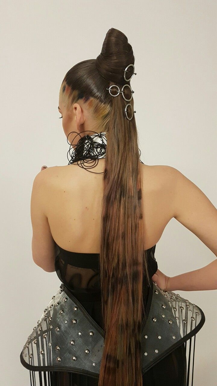 Hair inspiration by oana moldoveanu  Hair amazing  hair concept for galla wella
