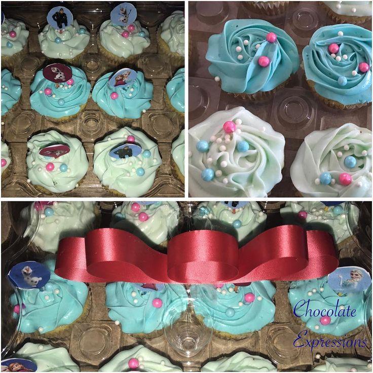 ❄️Frozen fun in the Summer❄️ #anna #elsa #olaf #sven #christoff #chocolateexpressions242 #bahamas #cupcakes http://misstagram.com/ipost/1551018593625730014/?code=BWGUzF5Fmve