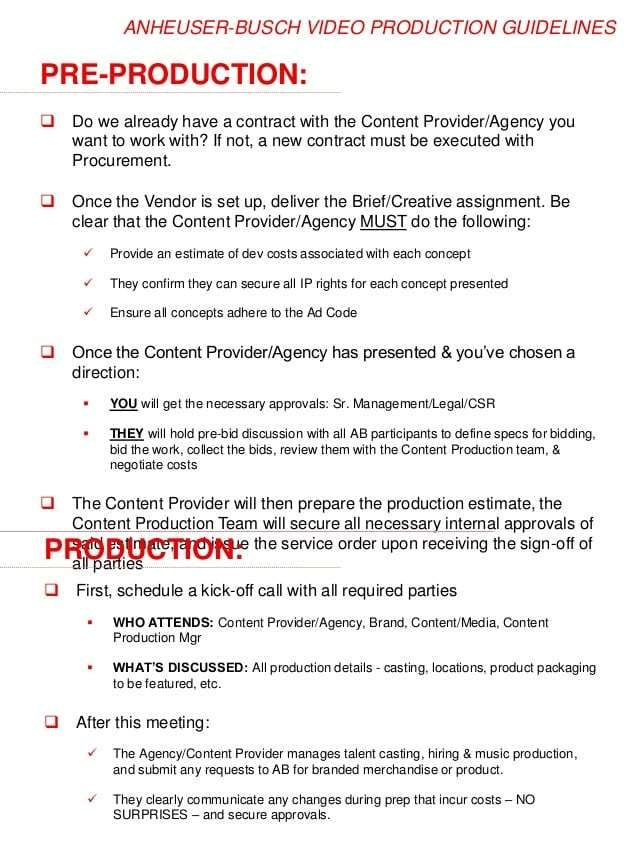 Video Production Contract 7 Invoice Template Best Templates Word Template