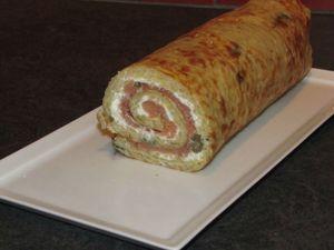 Gâteau roulé de pommes de terre au saumon fumé - Pour ceux qui aiment cuisiner !