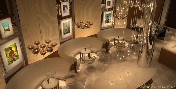 FIZZ Las Vegas bar and lounge - Caesars Palace
