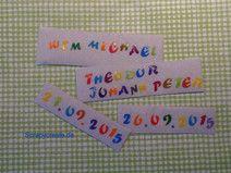 Wachsbuchstaben Mix Deine Farbe bunt (N)