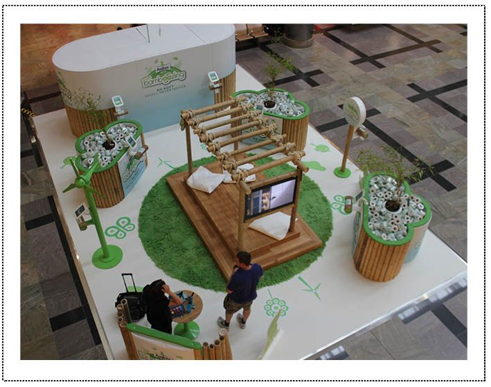 Exhibition Stand Eco : Best images about experiential shopping centre on