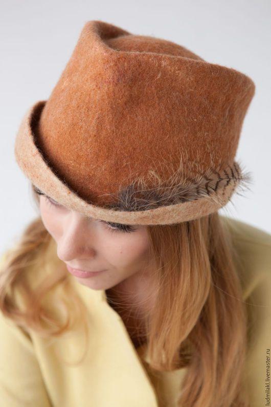 Шляпы ручной работы. Заказать Шляпка из войлока