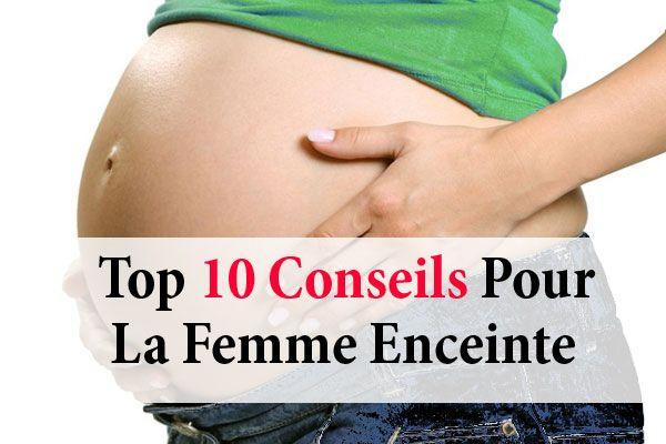10 conseils pour la femme enceinte