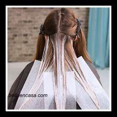 Balayage rubio dorado en el cabello, a mano alzada paso a paso !! ,