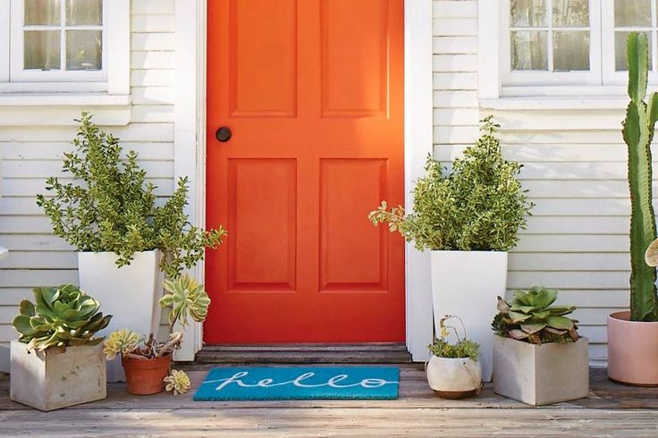 The mat outside your front door is one of the first things guests see when they visit your home, so why not choose one that reflects your personal style? This practical accessory is more than just a spot to wipe your shoes, but it also helps set the tone for your home. Check out these 2016 picks - they're durable, pretty, and guaranteed to make a great first impression!