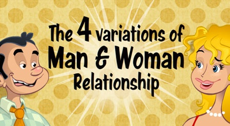 There are 4 variations of man/woman relationship, click the link to find out!  http://wonderfulecards.com/CardPreviewPageX.aspx?CardId=119=34