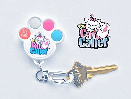 The Cat Caller Additional Keychain Remote Locator *BEST* cat Tracker Small Enough for Cats and Small Dogs works with Single Pack or Multi-cat receivers. Save 50% Now! >> Details can be found  : Cat Collar, Harness and Leash