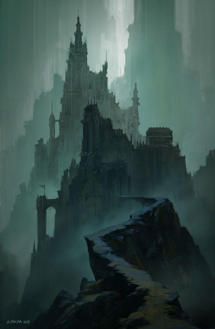 The Dark Citadel, Andreas Rocha on ArtStation at www.artstation.co… – Shane Wright