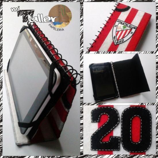 funda para ipad tablet camiseta de futbol liga españa