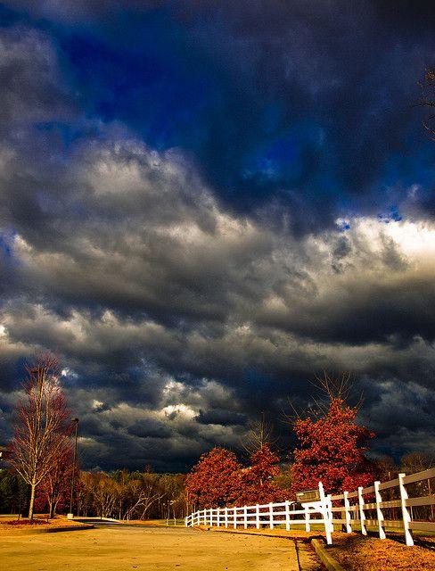 Autumn storm (via naturesdoorways)