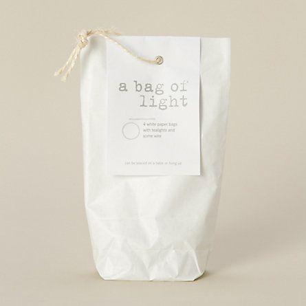 Paper Teabag Light Set