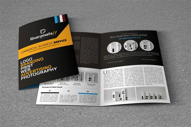 14 best brochure design images on pinterest brochures brochure 200 classic brochure mockups psd template designs pronofoot35fo Images