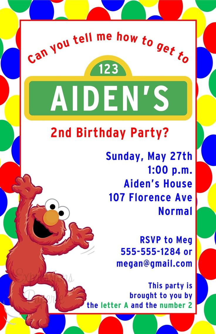 7 best Birthday Party Invitations images on Pinterest | Birthday ...