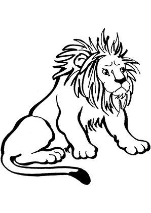 ausmalbild löwe ist übel zum kostenlosen ausdrucken und ausmalen. ausmalbilder  