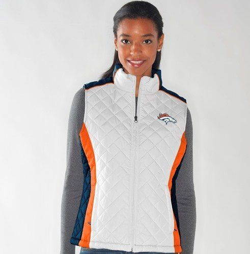 Denver Broncos Women's NFL Diamond Full Zip Quilted Vest Jacket by G-III Sports, http://www.amazon.com/dp/B00FC620PK/ref=cm_sw_r_pi_dp_CxGrsb0AS267R