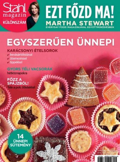 Stahl Judit (Szerk.) - Stahl magazin különszám - 2016. november
